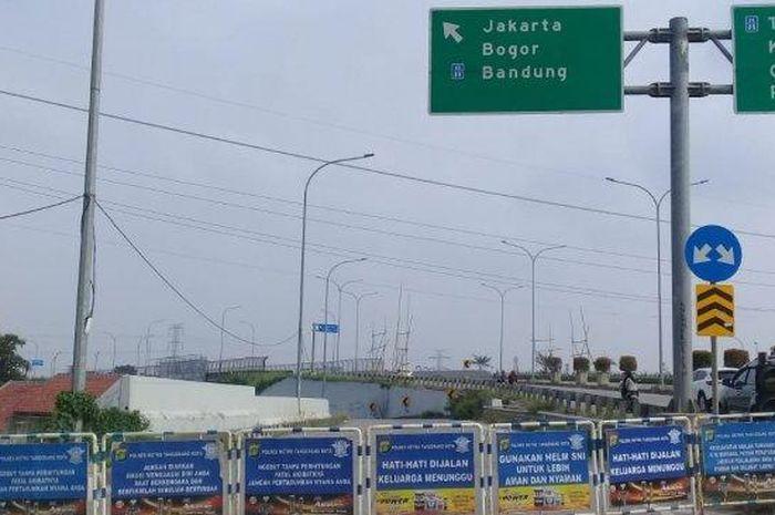 Penutupan akses dari dan menuju Jakarta
