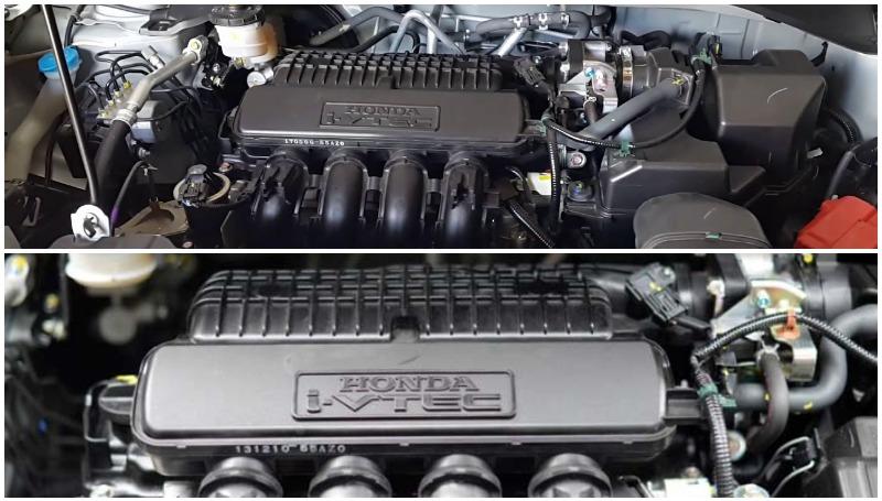 Mesin BR-V dan Mobilio