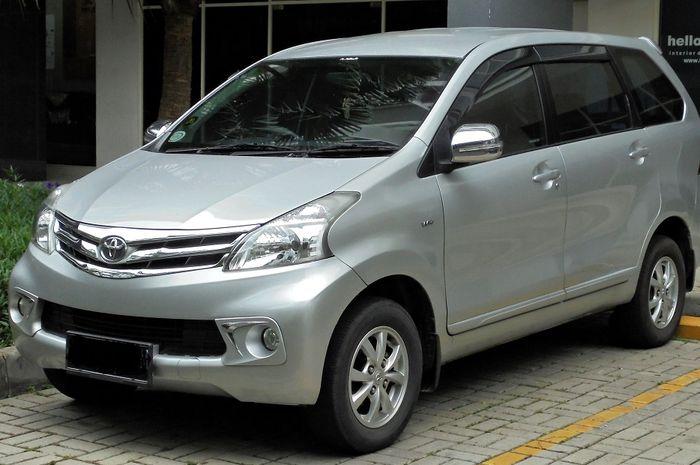 Toyota Avanza 2012, jadi Mobil MPV Murah Bekas