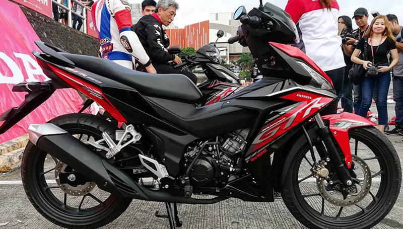 Motor bebek Supra GTR 150