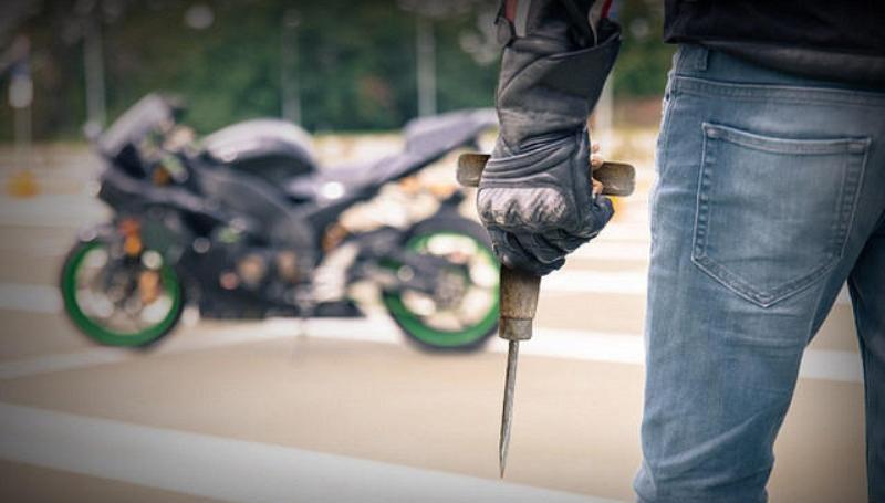 Pencegahan maling motor