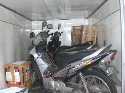 cara kirim motor lewat kargo