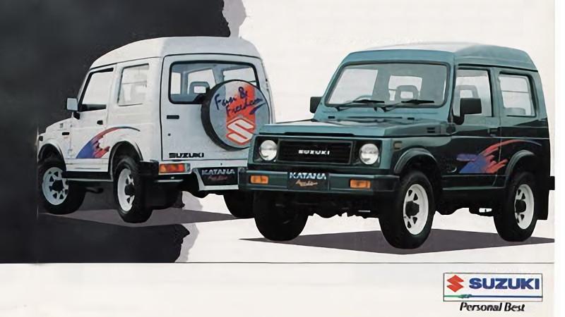 Perbedaan Suzuki Jimny Vs Katana