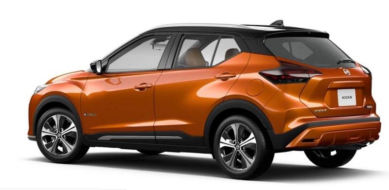 Desain Eksterior Nissan Kicks e-Power