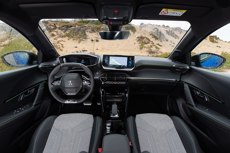 Desain i-Cockpit Peugeot