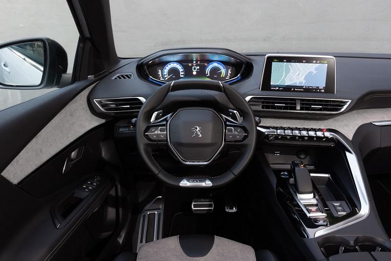dasbor Peugeot