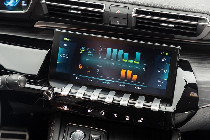 Head unit Peugeot i-Cockpit