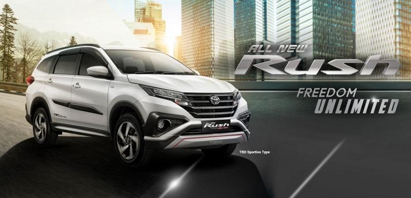 Toyota Rush salah satu SUV terlaris
