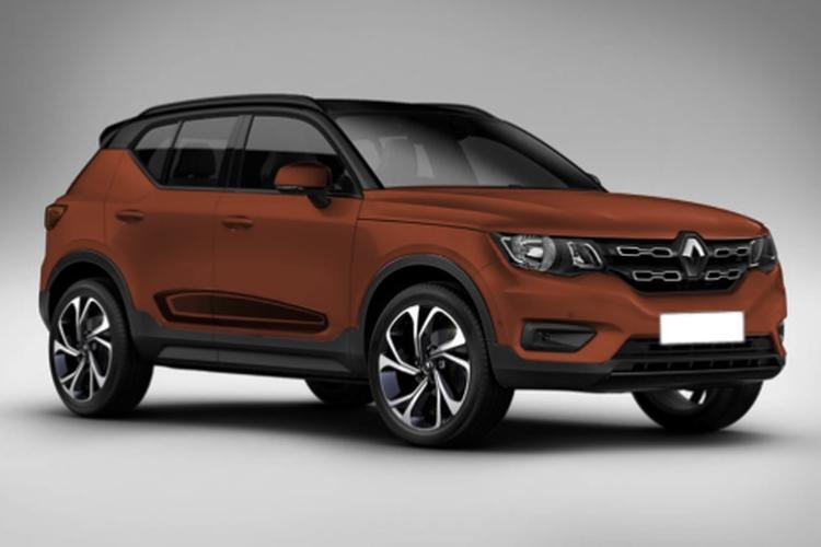 Renault Kiger yang diproyeksi meluncur di Tanah Air