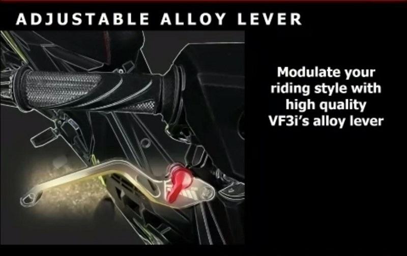 clutch lever di motor bebek sym