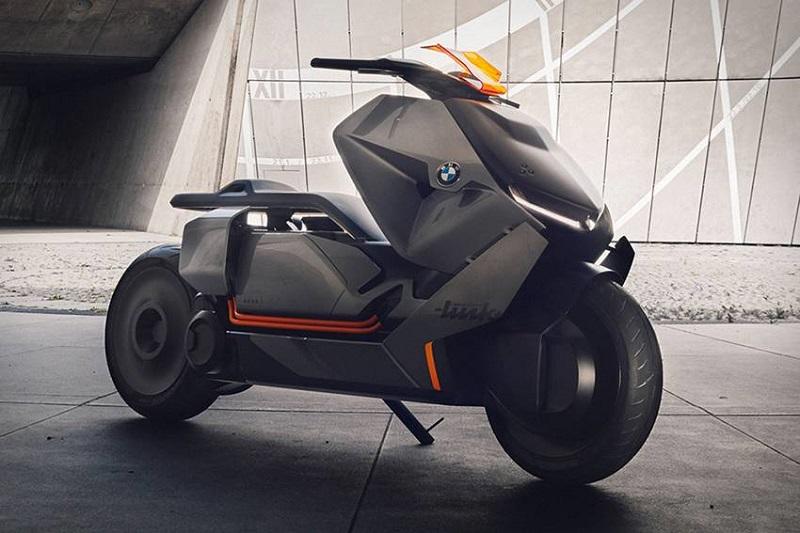 BMW Concept Link motor masa depan tercanggih