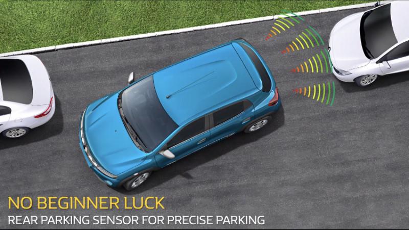 Fitur keselamatan sensor empat titik