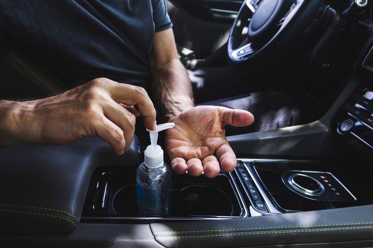 Protokol berkendara jelang penerapan New Normal