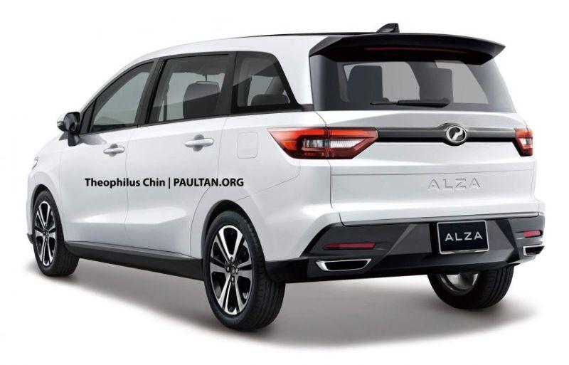 Perodua Alza, yang diklaim sebagai generasi terbaru Avanza-Xenia