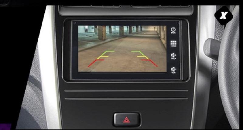 kamera parkir Toyota Agya