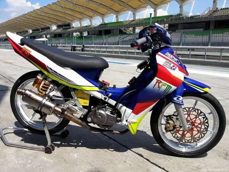 Modif motor jupiter Z racing