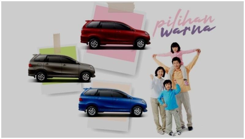 Ditawarkan dalam beragam pilihan warna jadi kelebihan Daihatsu Xenia