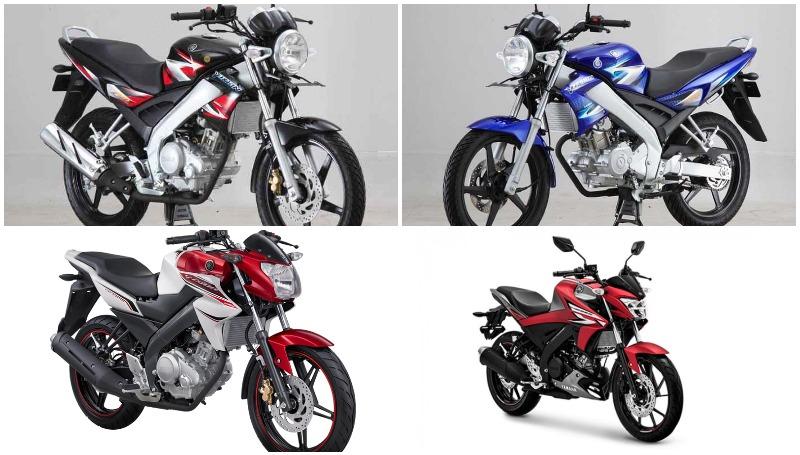 Sejarah Yamaha Vixion sejak 2007