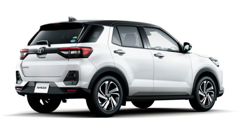 spesifikasi Eksterior Toyota Raize yang modern