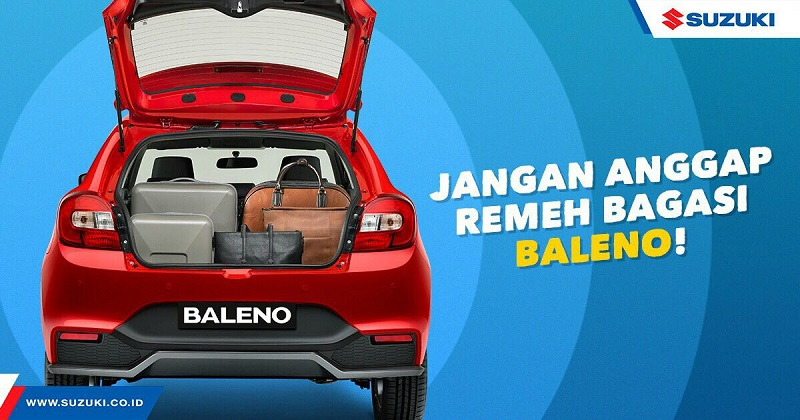 Bagasi Luas Jadi Kelebihan Suzuki Baleno Hatchback