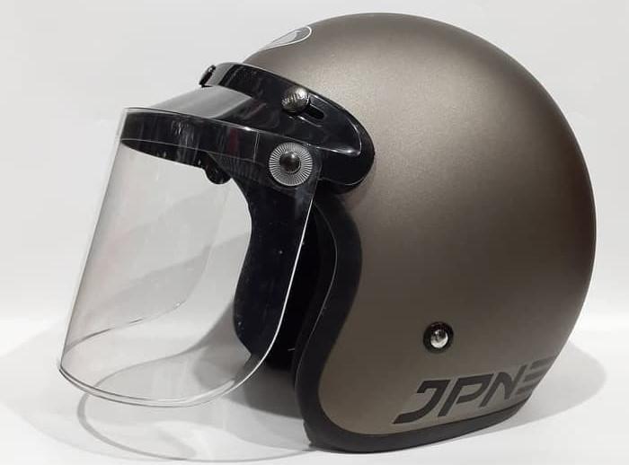 JPN ARC, rekomendasi helm retro terbaik