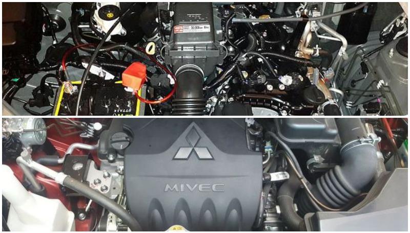 komparasi toyota avanza vs xpander dari sisi mesin