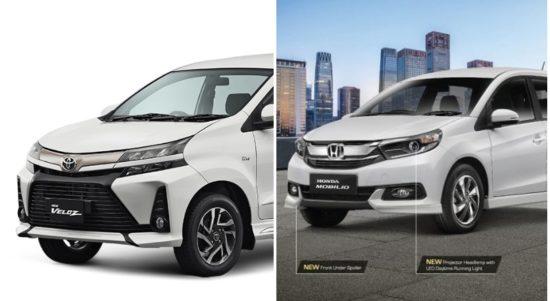 komparasi Honda Mobilio Vs Toyota Avanza