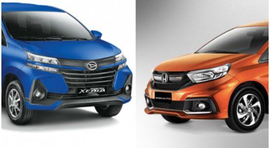 Komparasi Daihatsu Xenia Vs Honda Mobilio