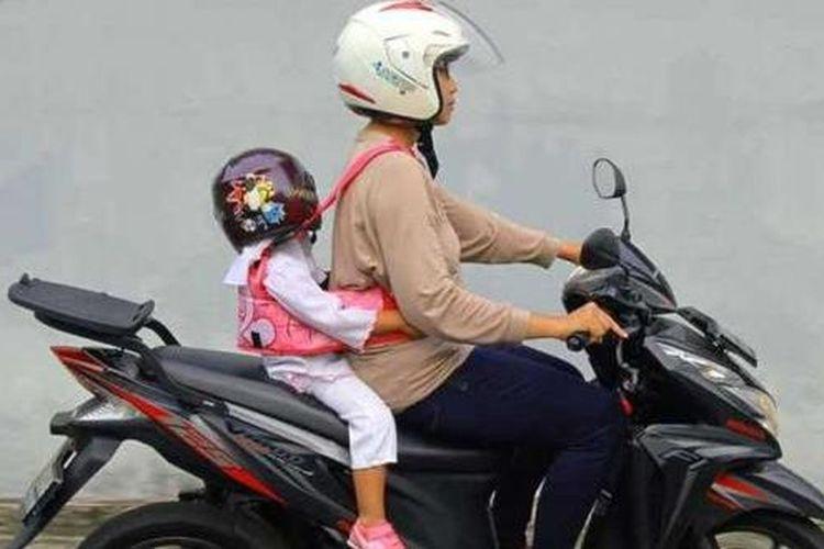 mimpi naik motor bersama ibu