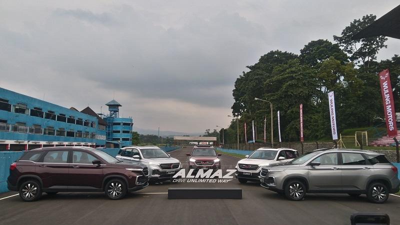 Sejarah Wuling Almaz di Indonesia
