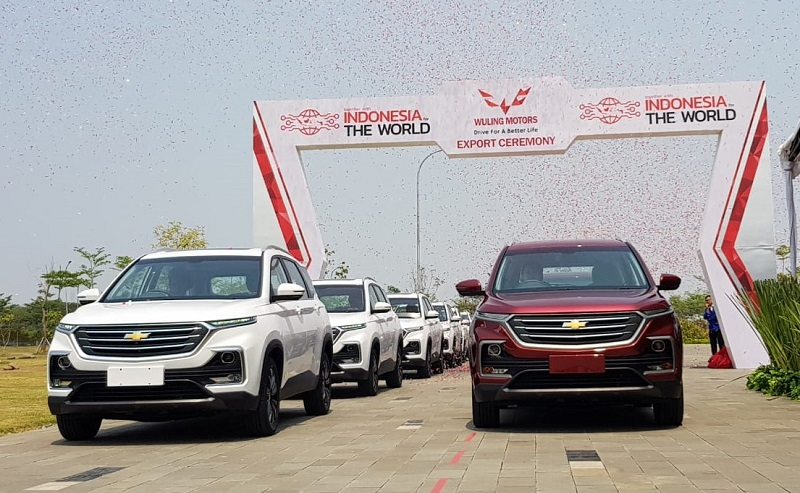 Transformasi sejarah Wuling Almaz ke Chevrolet Captiva