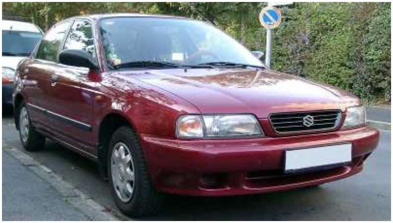 Ukiran sejarah Suzuki Baleno generasi pertama