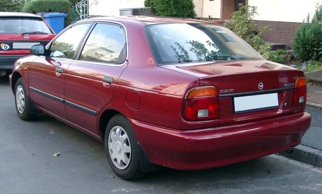 Suzuki Baleno facelift tahun 2002