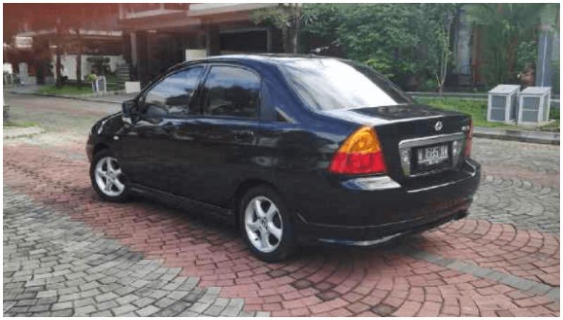 Suzuki Baleno Next-G facelift 2005