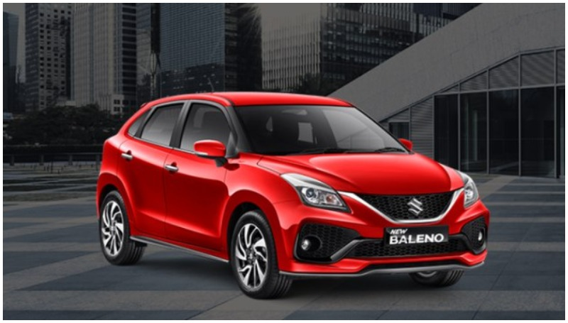 Suzuki Baleno hatchback facelift 2019