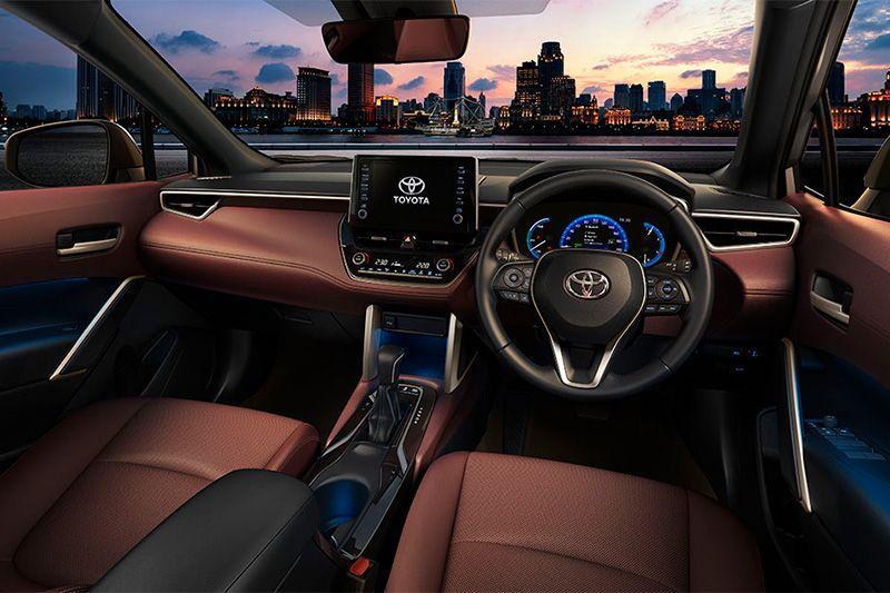 Interior Toyota Corolla Cross Indonesia
