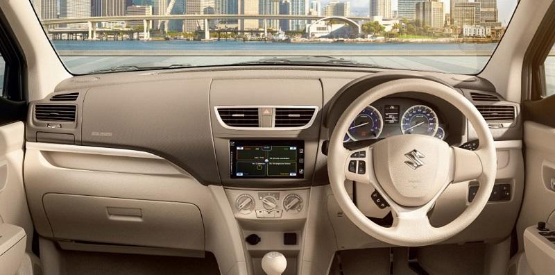 Interior Suzuki Ertiga Diesel Hybrid