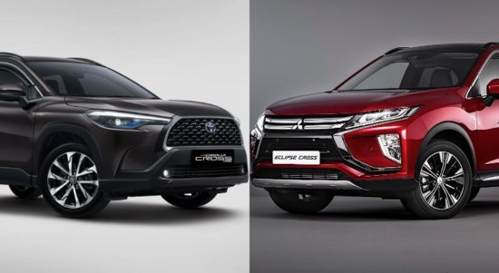 toyota corolla cross vs mitsubishi eclipse cross