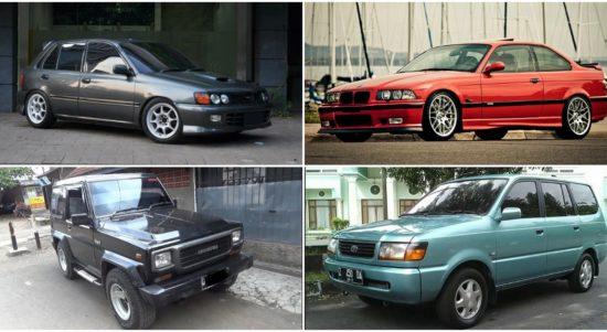 5 mobil tahun 90