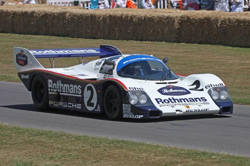 Porsche 962, tercatat sebagai mobil balap tercepat di 1985