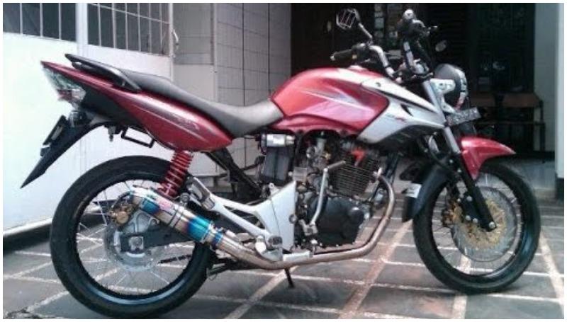 Honda Tiger modif simpel