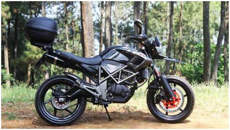 Modifikasi Honda Tiger Adventure