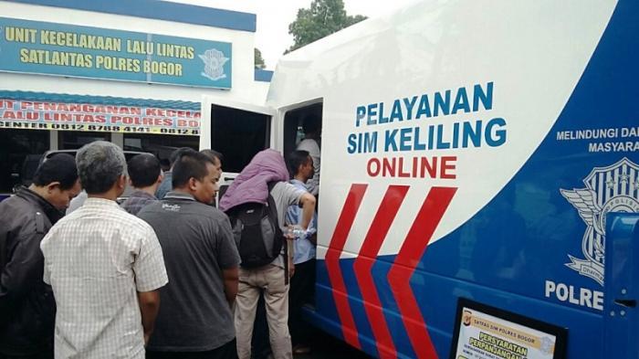 Jadwal SIM keliling Jakarta