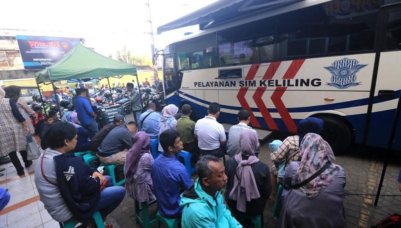 Jadwal SIM keliling Bogor