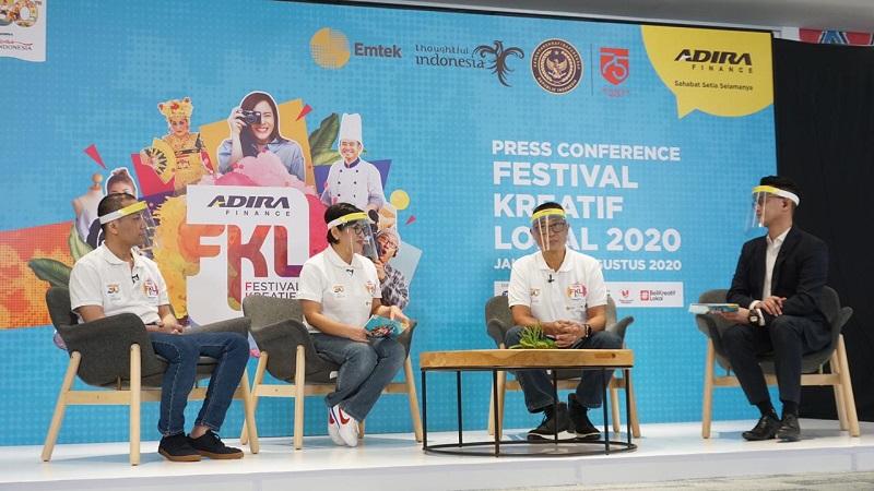Adira Finance bersama Kemenparekraf Gelar Festival Kreatif Lokal