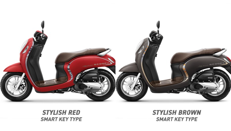 varian honda scoopy stylish