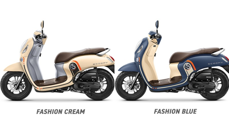 varian honda scoopy fashion
