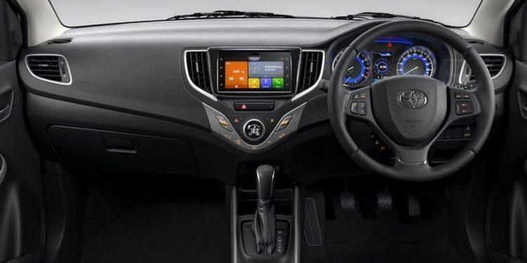 Interior generasi terbaru Toyota Starlet