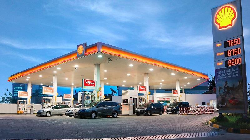 oktan bensin shell
