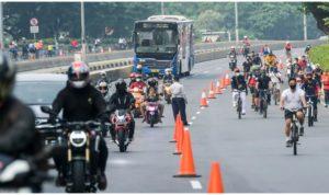 Penerapan kebijakan PSBB 2 yang berlaku di Jakarta